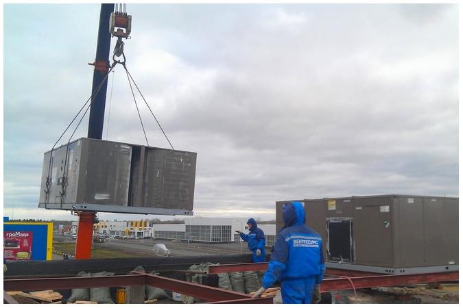 Крышные кондиционеры или Руфтопы (Rooftop)